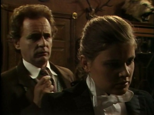 The Doctor and Ace: dramatic tension