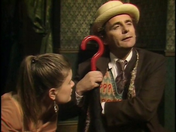 The Seventh Doctor in Full Philosophical Mode